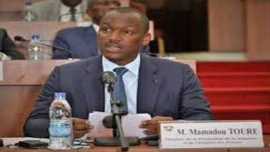 """Photo de Mamadou Touré, Ministre de la Jeunesse: """"Si Gbagbo vient, Affi ne peut plus être président du FPI"""""""