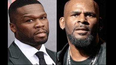 Photo de 50 Cent ridiculise R. Kelly dans une publication sur instagram