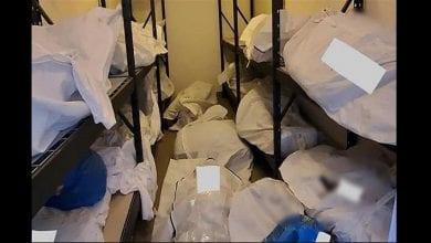 Photo de États-Unis: des cadavres de victimes du covid-19 entassés dans un hôpital-(photos)