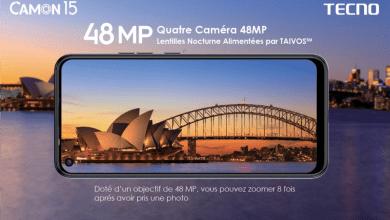 Photo de La serie Tecno Camon 15 en tête de liste sur le marché de téléphonie mobile ivoirien depuis son lancement