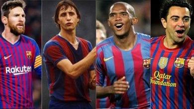 Photo de Découvrez le Top 30 des meilleurs joueurs du Barça
