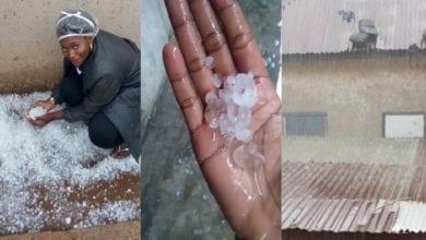 Photo de Ghana: une «pluie de glace» s'abat sur une ville-(Vidéo)