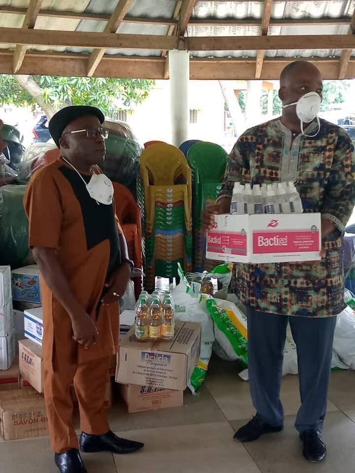 Côte d'Ivoire/ Covi-19: Gohou Michel fait d'importants dons aux enfants du village SOS d'Abobo