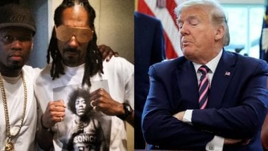 Photo de Covid-19: Trump ridiculisé par Snoop Dogg et 50 Cent