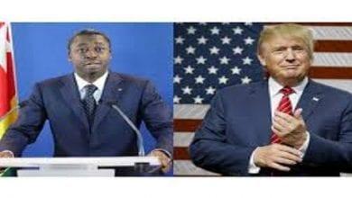 Photo de Togo: le message de Donald Trump à Faure Gnassingbé
