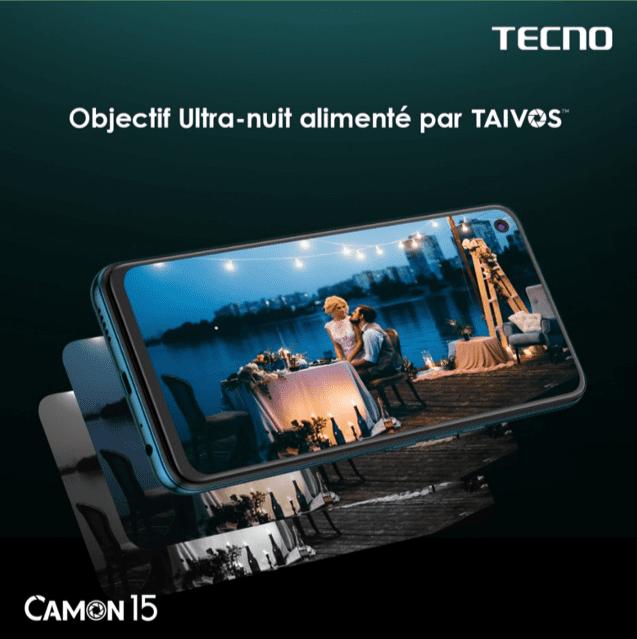 Retour d'expérience des premiers utilisateurs du TECNO CAMON 15