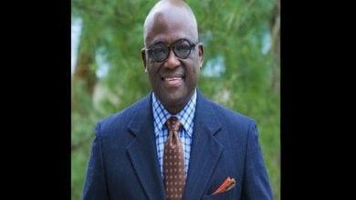 Photo de Un professeur nigérian nommé président d'une université américaine