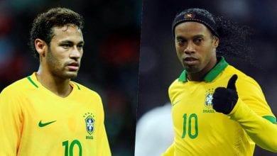 Photo de « Ronaldinho est largement plus fort que Neymar »