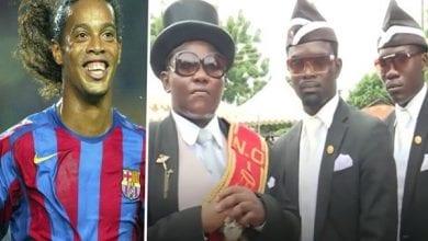 Photo de Ghana : « je rêve de conduire Ronaldinho à sa dernière demeure », dixit le leader des porteurs de cercueils (vidéo)