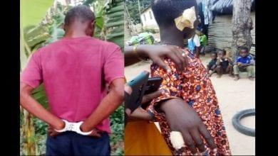 Photo de Ghana : il coupe l'oreille de son fils et brûle son doigt pour avoir volé son argent (photos)