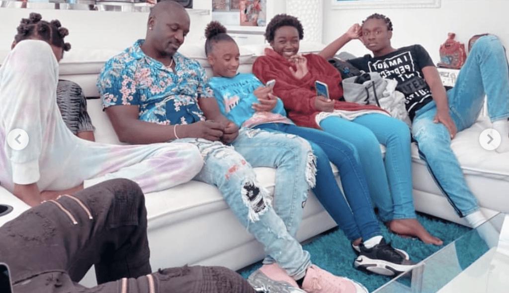 Qualifié de discret, Akon partage quelques photos de ses enfants sur la toile