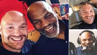 Photo de Combat de la Charité : Mike Tyson montera sur le ring contre Tyson Fury?