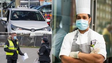Photo de Les agents de sécurité et les chauffeurs de taxi sont les plus susceptibles de mourir du coronavirus – Etude