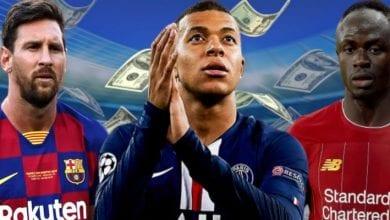 Photo de Top 5 des joueurs les plus chers au monde: découvrez le rang de Sadio Mané