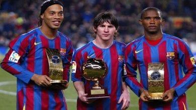 Photo de Ronaldinho: ses 11 meilleurs coéquipiers du Barça révélés