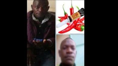 Photo de Un homme arrêté pour avoir mis du piment et de la colle dans les parties intimes de sa femme