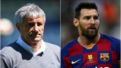 Photo de FC Barcelone : critiqué par Messi sur ses stratégies,  l'entraîneur Quique Setien riposte