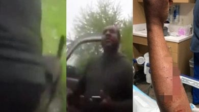 Photo de USA: un policier ordonne à un homme noir de laper sa propre urine: Vidéo