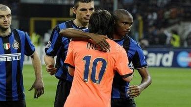 Photo de LDC 2010: Eto'o révèle ce que Messi lui a dit pendant le match Barça-Inter
