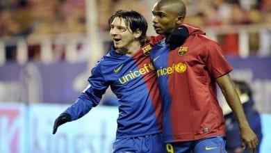 Photo de Samuel Eto'o: sa folle demande à Lionel Messi