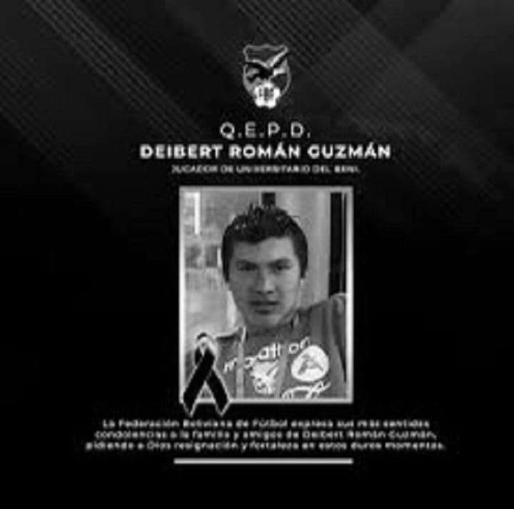 Bolivie : Deibert Frans Roman Guzman, premier footballeur à mourir du coronavirus