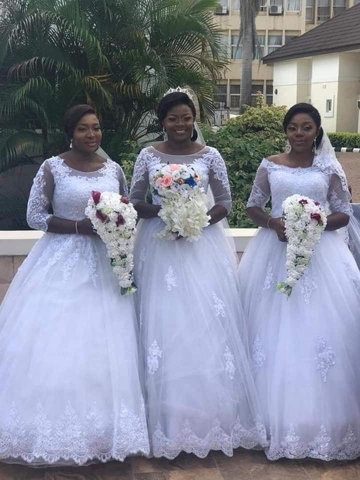 Nigeria: Des frères triplet épousent des sœurs triplées dans l'État d'Enugu-(Photos)