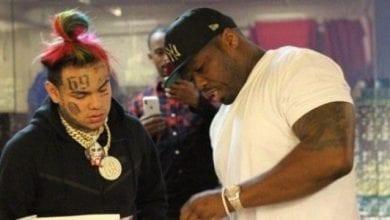 Photo de 50 Cent répond à 6ix9ine qui veut remixer un de ses tubes à succès-Vidéo