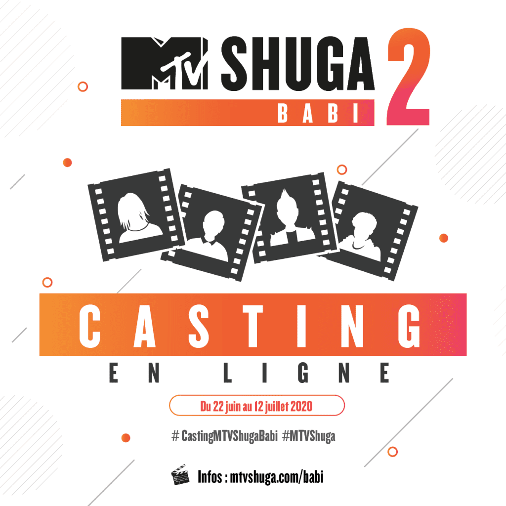 La Fondation MTV Staying Alive (MTV SAF) organise les auditions de la 2ème saison de sa série MTV Shuga Babi