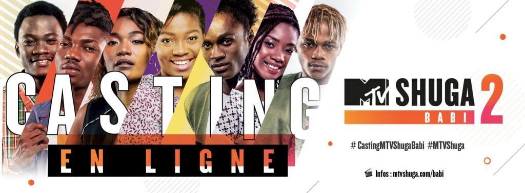 La Fondation MTV Staying Alive (MTV SAF) organise les auditions de la 2ème saison de sa série MTV Shuga Babi