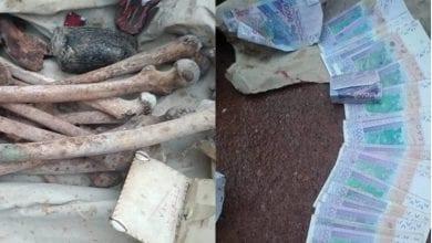 Photo de Bénin / Insécurité : de faux billets, des ossements humains et des armes saisis chez un homme