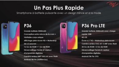 Photo de P36 et P36 pro LTE: la marque itel lance 2 smartphones à batterie puissante avec un design révolutionnaire