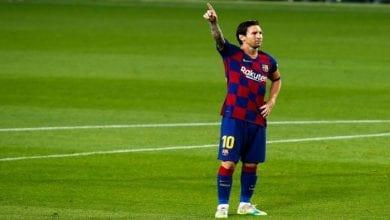 Photo de Barça: Messi suscite la polémique avec la célébration de son but