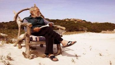 Photo de Mauro Morandi: L'homme qui vit seul sur une île depuis 31 ans