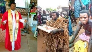 Photo de Nigeria: un pasteur surpris en train de planter un fétiche sur le terrain de son cousin