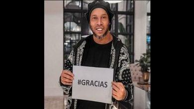 Photo de Affaire faux passeport: Ronaldinho évoque son assignation à résidence surveillée