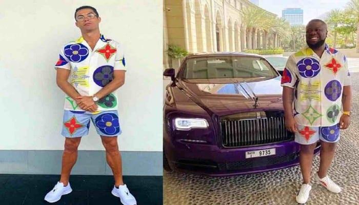 Ronaldo-Hushpuppi
