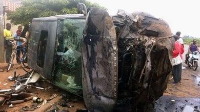 Photo de Côte d'Ivoire : 2 morts et 4 blessés dans un grave accident
