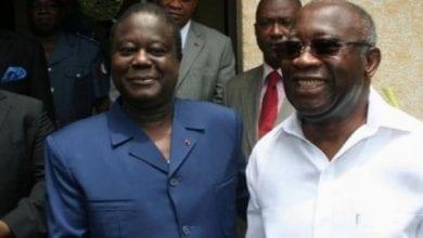 Photo de Côte d'Ivoire : Le PDCI et le FPI signent un accord cadre de collaboration pour la paix et l'union