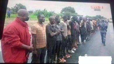 Photo de Côte d'Ivoire : les voyageurs clandestins interceptés dans un camion de bétail à Bouaké rapatriés