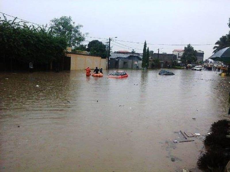 Côte d'Ivoire / Pluies diluviennes: Plusieurs morts et d'importants dégâts matériels enregistrés
