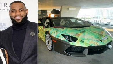 Photo de LeBron James: découvrez son impressionnante collection de voitures