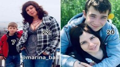 Photo de Russie: A 35 ans, elle épouse son beau-fils de 20 ans après avoir divorcé d'avec son père-Vidéos