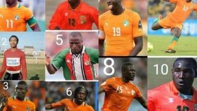 Photo de Côte d'Ivoire / Football : top 10 des meilleurs buteurs de l'histoire des Éléphants