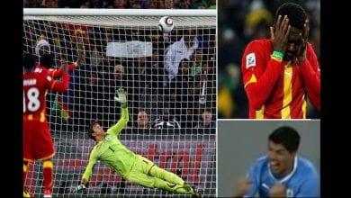 Photo de Mondial 2010 : Toujours critiqué pour son penalty manqué contre l'Uruguay, Asamoah Gyan réagit-(vidéo)