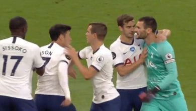Photo de Tottenham/accrochage entre Hugo Lloris et Heung-Min Son: Mourinho dit en être la cause