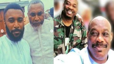 Photo de 8 célébrités nigérianes qui ressemblent exactement à leurs pères (photos)