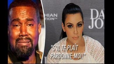 Photo de Après son scandale, Kanye West demande publiquement pardon à Kim Kardashian