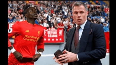 Photo de Liverpool : Jamie Carragher déclare son amour à Sadio Mane