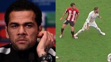 Photo de Real Madrid-Athletic Bilbao: Penalty ou pas de Ramos? La réaction de Dani Alves enflamme la toile