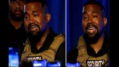 Photo de « J'ai failli tuer ma fille » : Kanye West en larmes lors de sa première campagne présidentielle (vidéo)